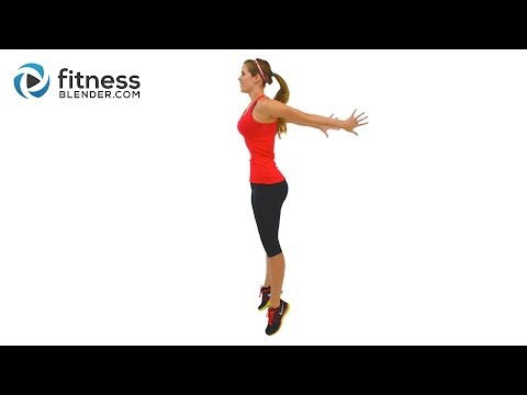 Fat Burning HIIT Cardio Workout High Intensity Interval Training with Warm Up & Cool Down