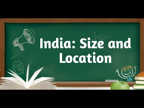 CBSE Class IXth geography Ch- India size and location