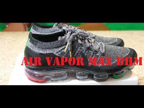 4e71031ebac AIR VAPORMAX BHM Shoe Review - YouTube
