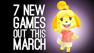 7 New Games Oขt in March 2020 for PS4, Xbox One, PC, Switch