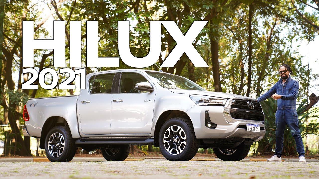 Teste: Toyota Hilux SRX 2021 está mais potente, urbana e segura