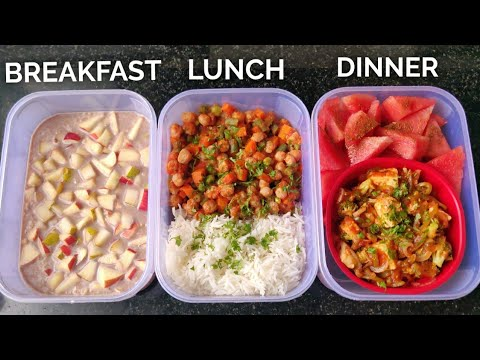 Meal Prep 1,500 calories in 25mins!! ( EXTREME FAT LOSS ) • PURE VEG ����