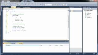 C#.Net Tutorial 17-1 - Classes and Object-Oriented Programming (Part 1)