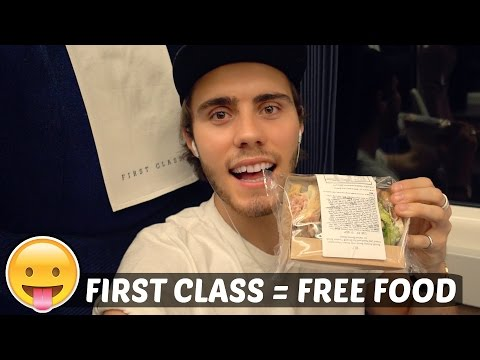 FIRST CLASS = FREE FOOD