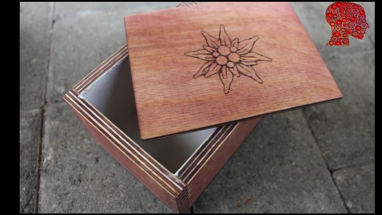 DIY Homemade Making a box cut joint