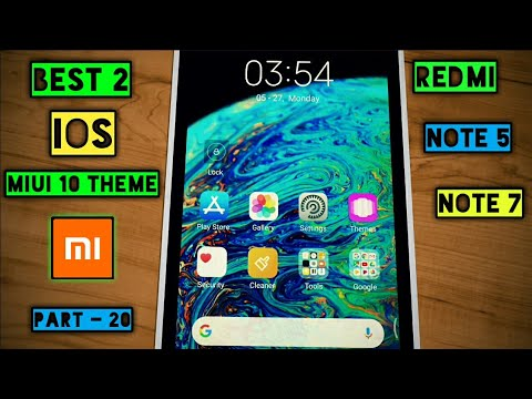 Best 2 || iOS Miui 10 Themes || Part - 20