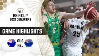Australia v New Zealand - Highlights - FIBA Asia Cup 2021 - Qualifiers