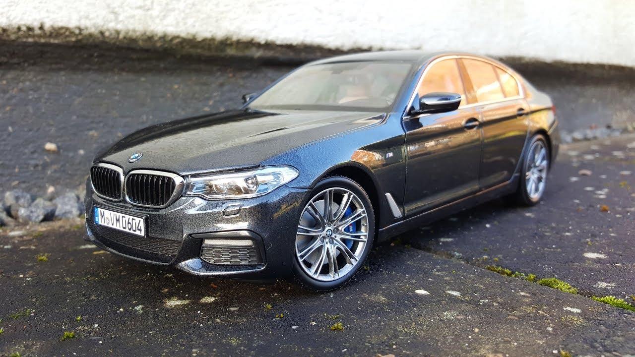 BMW 5 Series G30 1:18 Kyosho - YouTube