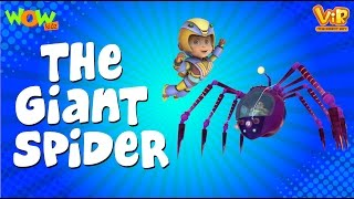 Vir Der Roboter-Junge | Hindi Cartoon For Kids | The giant spider | Animationsserie| Wow Kidz