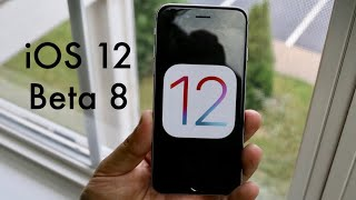 iOS 12 BETA 8 On iPHONE 6! (Review)