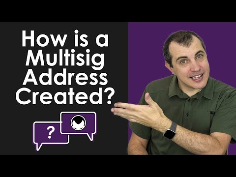 Bitcoin Q&A: How is a Multisig Address Created?