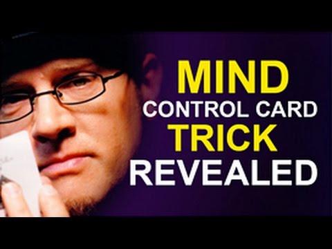 'MIND CONTROL CARD TRICK' REVEALED!
