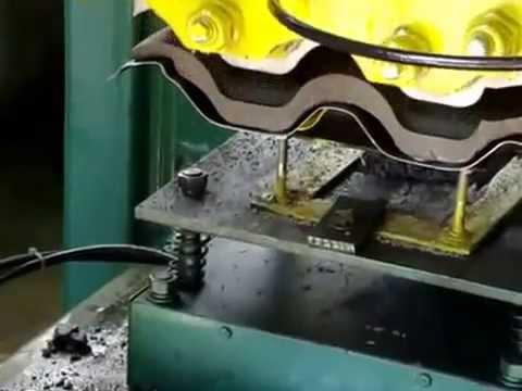 Roof Tile Making Machine Chamunda Welding Works Morbi Gujrat India Amazing Technology Video