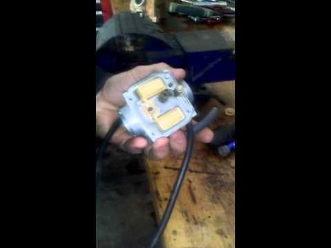 How to clean Yamaha ttr 125 carb part 1