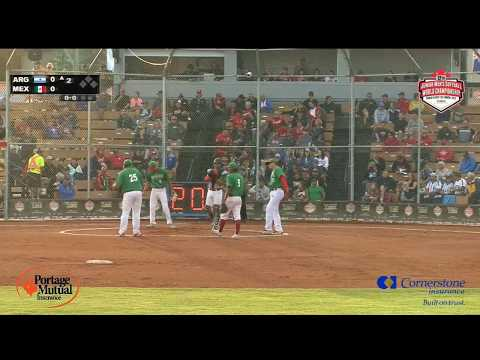 Mexico V Argentina – WBSC Junior Men's Softball World Championship 2018