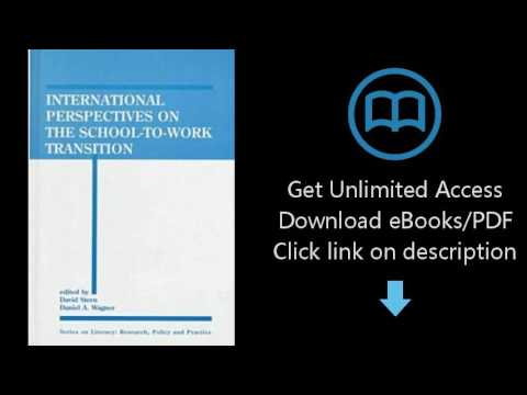 Download International Perspectives on the School-To-Work Transition (Series on Literacy) PDF
