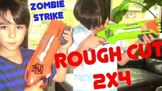 Robert-Andre's and William-Haik's Nerf Zombie Strike Rough Cut 2X4 Multipack