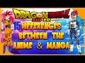 The 15 Major Differences Dragon Ball Super Manga and Anime