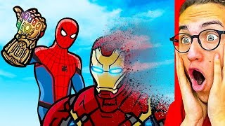 Reacting To THE BEST SUPERHERO ANIMATION Spiderman Iron Man Hulk Avengers amp more