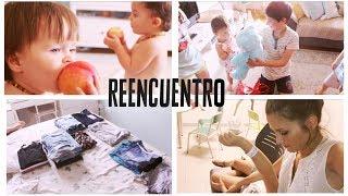 REACCIONES de los HERMANOS, el REENCUENTRO / Aimar REGRESA de IRLANDA !!! Verdeliss Vlog