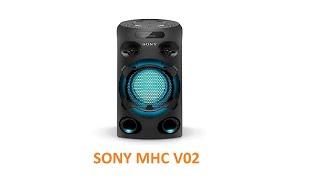 Sony MHC V02 Party Speaker Owner 39 s Sound Test amp Review