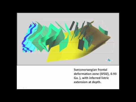 3D bedrock geological modelling English version
