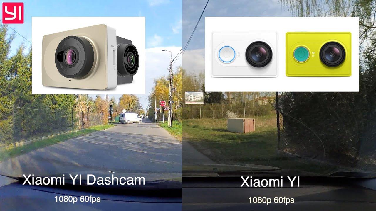 xiaomi yi dashcam vs xiaomi yi comparison 2016 youtube. Black Bedroom Furniture Sets. Home Design Ideas