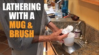 Video Using a Traditional Shaving Mug & Brush - Creating the Lather download MP3, 3GP, MP4, WEBM, AVI, FLV Agustus 2018