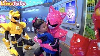 라임의 타요 키즈카페 &미니특공대 키즈카페 놀이터 체험 | 어린이동요 indoor playground family fun for kids