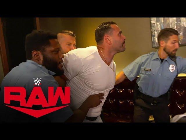 Rusev goes berserk in hunt for Lana and Bobby Lashley: Raw, Oct. 21, 2019