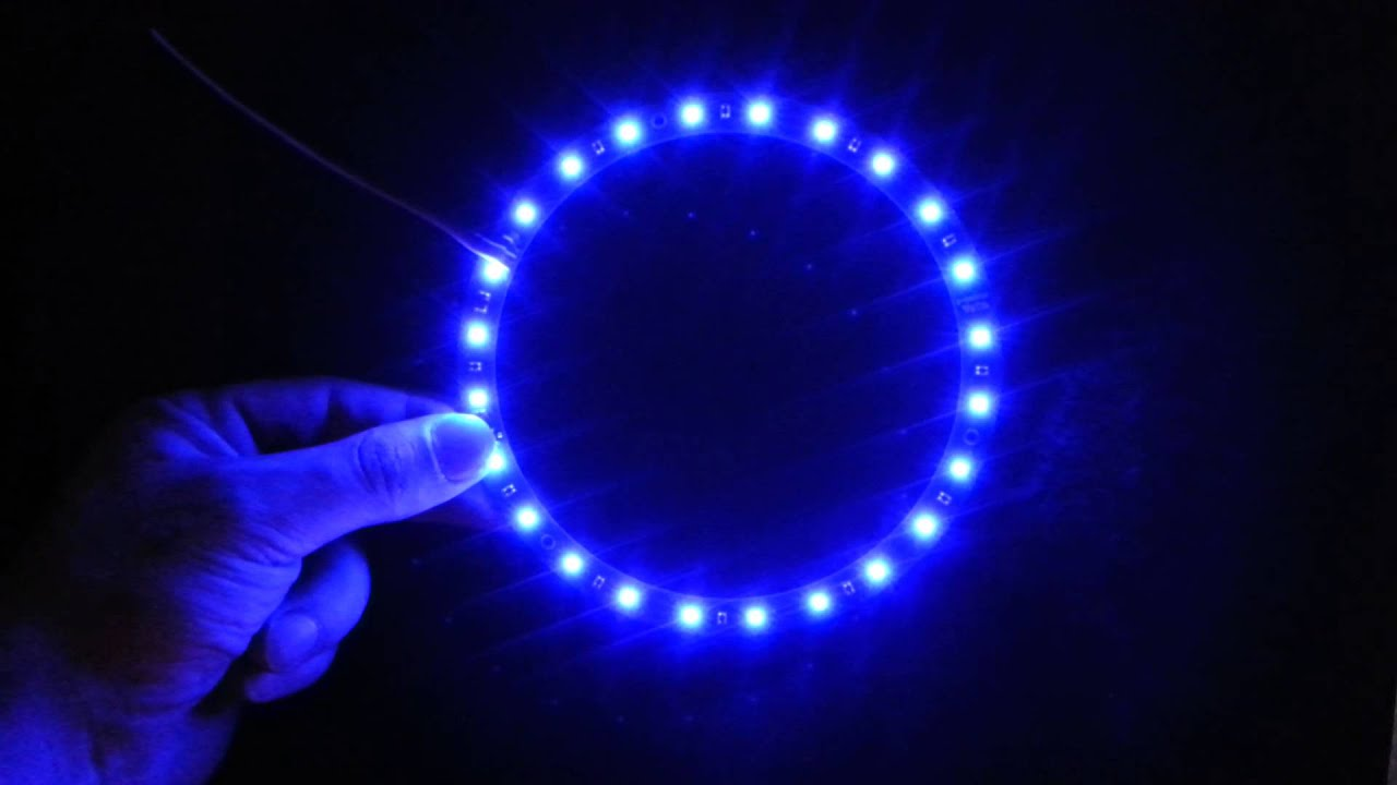 blue led ring from youtube. Black Bedroom Furniture Sets. Home Design Ideas