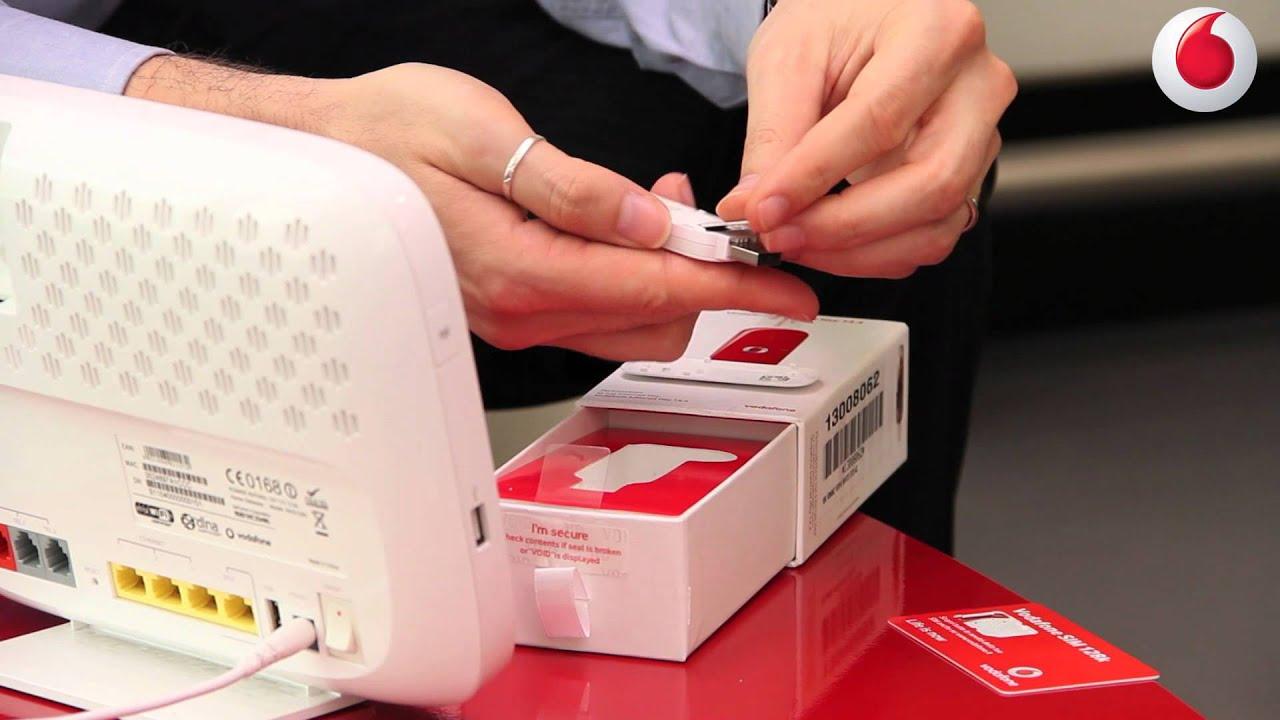 Guida all'installazione della Vodafone Key Wi-Fi R201 ...