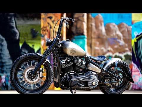 ⭐️Harley Davidson Softail Ape Hanger Cross Bob By Thunderbike - CustomBike Review