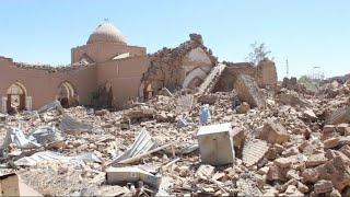 حصري - موقع إسلامي في تكريت لم يسلم من إرهاب داعش