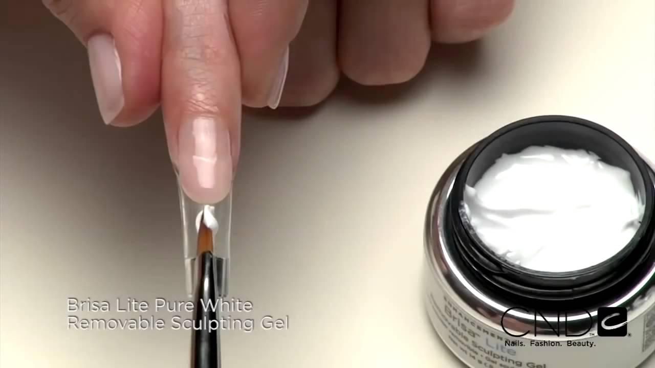 Brisa Lite Sculpting Gel Step by Steps - YouTube