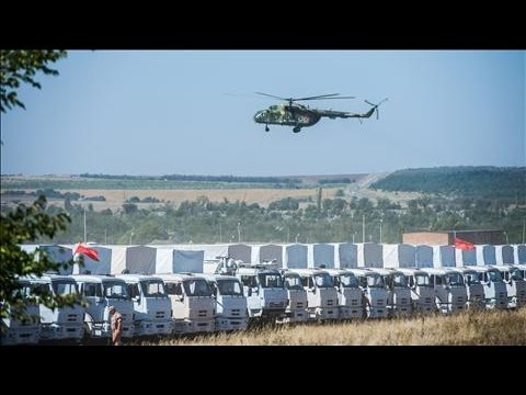 Ukraine Awaits Clearance for Russian Convoy Check