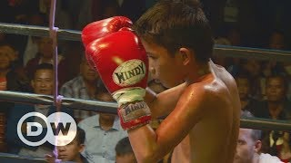 Child thaiboxers: A fighting chance   DW Documentary