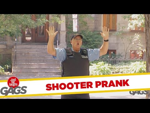 Mistaken Shooter Prank