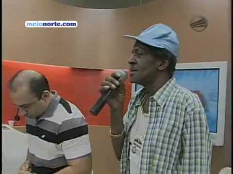 Gregory Isaacs interview+performing in a CRAZY brazilian tv show 2009
