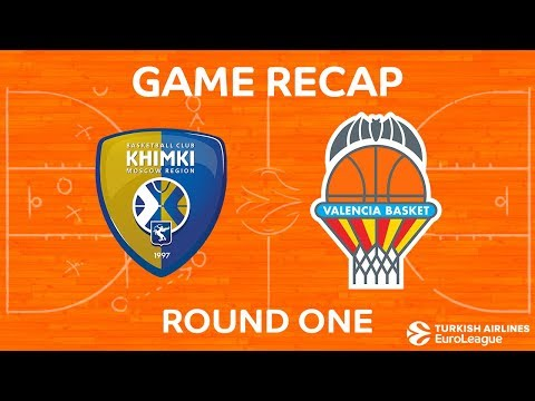 Highlights: Khimki Moscow region - Valencia Basket