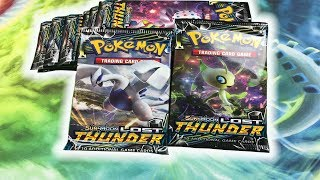 *EARLY* LOST THUNDER BOOSTER PACKS! POKEMON CARD OPENING