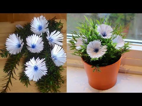 DIY Simple Paper Flowers-Handmade Craft...