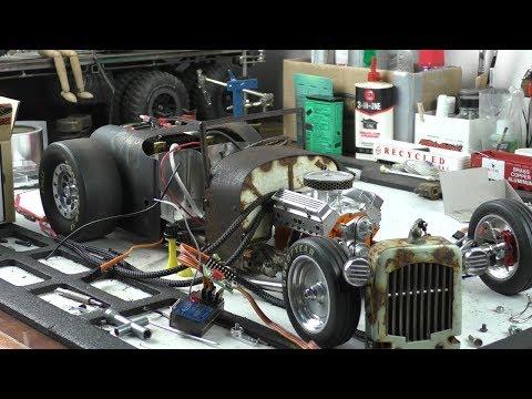 Rust Never Sleeps (part 42) RC Rat Rod charity auction build for Cancer Society NZ.