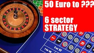 50 EURO to ??? ROULETTE ONLINE CASINO Auto live ROULETTE #16 Boring system testing