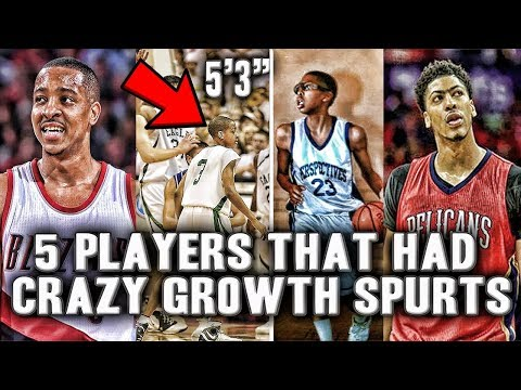 "5 NBA Stars That Had Crazy Growth Spurts | 6'3"" To 6'10"" In One Summer?"