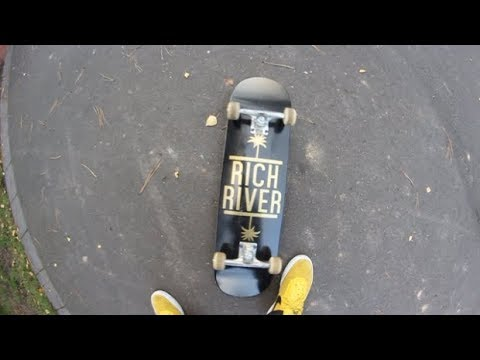 RichRiver Skateboards Review + Wheels