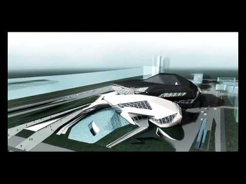 Zaha Hadid Architects » Guangzhou Opera House