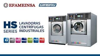 Lavadora centrífuga industrial HS Girbau | Efameinsa