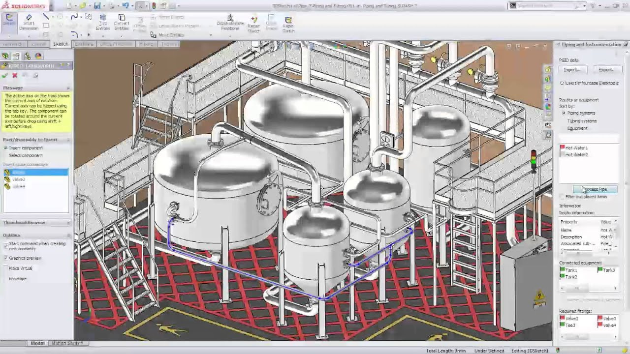 Solidworks 2014 Facility Design Youtube
