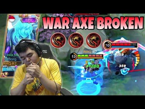 Download X.BORG ITEM WAR AXE BROKEN DAMAGENYA ! API NERAKA INI MAH !